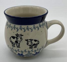 Boerenbeker (senseo) koe