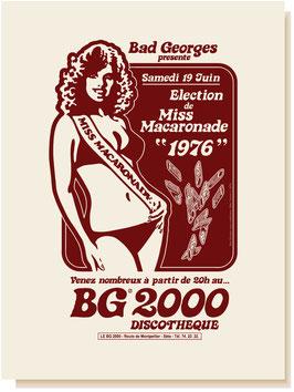 MISS MACARONADE 1976
