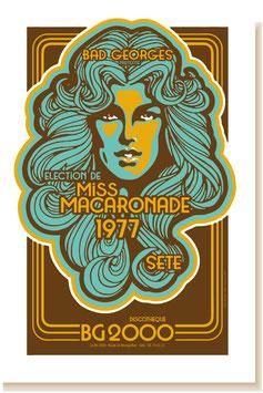 MISS MACARONADE ÉLECTION 1977