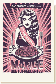 MANGE (couleur aubergine)