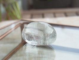 Bergkristall Trommelstein - transparent, klar - Top Qualität