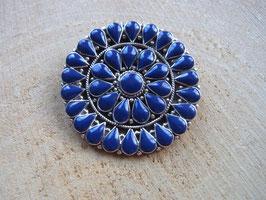 BLUE MANDALA - Anhänger mit Lapislazuli Steinen - 925 Silber