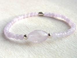 ANGELIC Armband mit Lavendel Amethyst und Silber