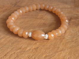 SUNSHINE Armband mit orange Aventurin