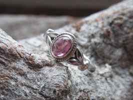BE LOVE - Ring mit Pink Turmalin, Sterling Silber