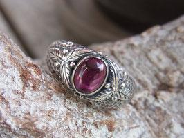 TARA Ring mit pink Turmalin UNIKAT