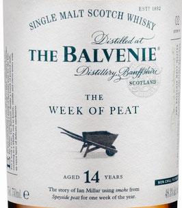 The Balvenie 14y.