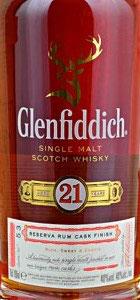 Glenfiddich 21 y. Rum Cask
