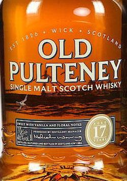 Old Pulteney 17 y.