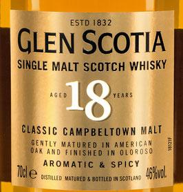 Glen Scotia 18y.