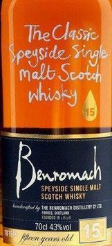 Benromach 15 y