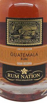 Rum Nation Guatemala 10 y.