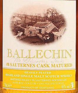 Ballechin # 8, Sauternes Cask