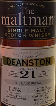 Deanston 21 - The Maltman
