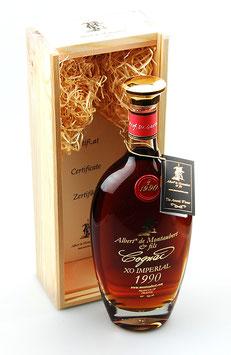 Cognac Albert de Montaubert XO Imperial 1990