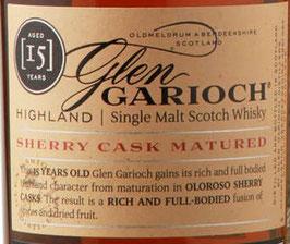 Glen Garioch 15 y. Sherry Cask