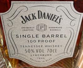 Jack Daniels Single Barrel 100 Proof