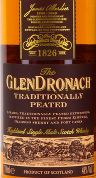 The Glendronach - Traditionally Peated