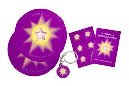 SET - Angebot mit Sticker, Untersetzer und Schlüsselanhänger