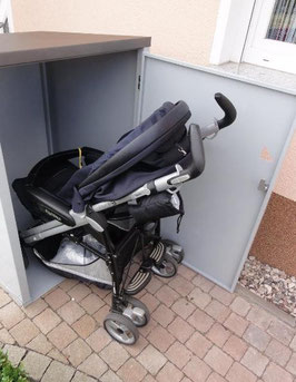 Kinderwagenbox / Kinderwagengarage