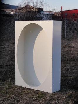 Rückwand 1,5m x 1m für Kaminholzregal in versch. Ausführungen