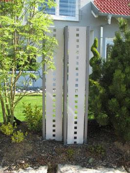 Sichtschutz - Stele in versch. Ausführungen 100 cm Breite