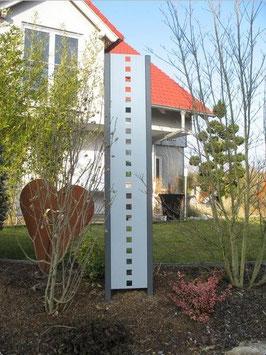Sichtschutz - Stele in versch. Ausführungen 50 cm Breite