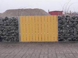Zaun Sichtschutz aus Metall versch. Ausführungen