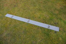 Cortenstahl Rasenkanten 1,95 Meter Länge (25 cm Höhe)