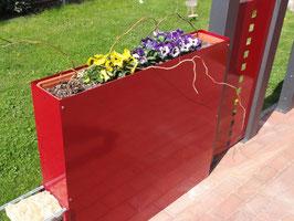 Blumenkastenblech Modular ohne Dekorstanzung in versch. Ausführungen