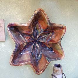 Kuchenform, Keramiik, Stern