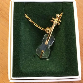 Anhänger, Swarovski, Geige