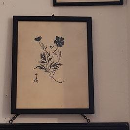 Scherenschnitt, Blumen