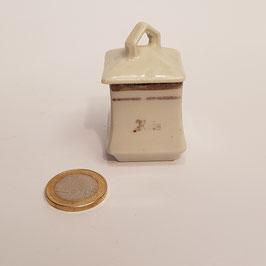 Vorratsgefäss mit Deckel, Porzellan