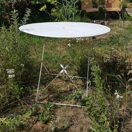 Gartentisch, Metall, guter Dm. für 4 Stühle