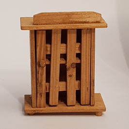 Eierkasten, Holz