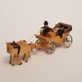 Hochzeits - Kutsche ,Holz