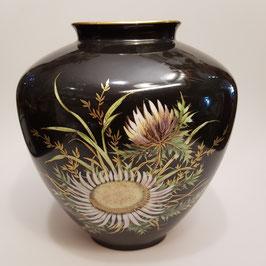 Vase, Disteln, gestempelt