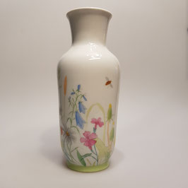 Vase, Heubach, handbemalt