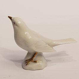 Vögelchen,  gold-weiss