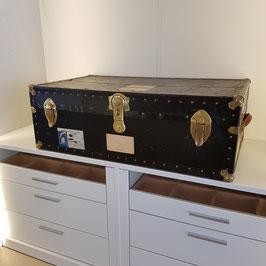 Grosser Vintage Reisekoffer, uralt, sehr schönes Ex.