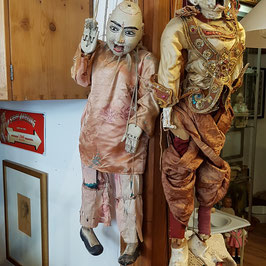Alte Marionette (links), Burma