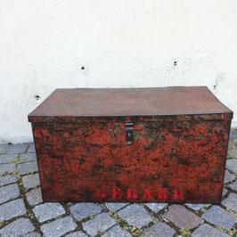 Alte, schöne Blech-Kiste, um 1930
