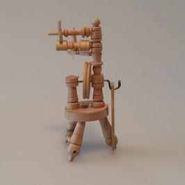 Spinnrad, Holz
