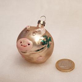 Schweinchen mit Kleeblatt