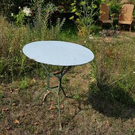 Gartentisch, Metall, schönes Untergestell