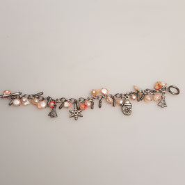 "Armband, ""Bettelarmband"", mit Perlen (Nr. 1)"