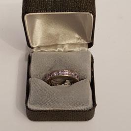 """Silber-Ring, Steinchen, """"925"""""""
