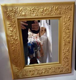 Spiegel, Goldrahmen