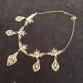 Halskette, Silber, filigrane Arbeit